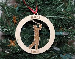 100 golf ornaments personalized ceramic golf ornament