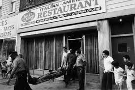 the restaurants where mobsters gathered ate and got murdered