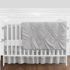 Plain Crib Bedding Solid Color Crib Bedding In Pink Blue More