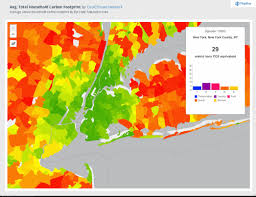 New York Zip Code Map by Random Notes Geographer At Large Carbon Footprint By Zipcode