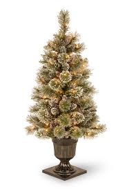 3 foot trees pre lit lights decoration