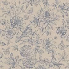 rasch wallpaper wallpaper floral bird beige grey rasch florentine 449471