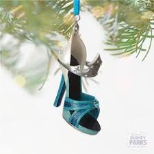 rapunzel shoe ornament ornaments disney store disney