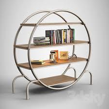 3d Bookshelf 3d Models Other Round Bookshelf Round Bookcase
