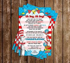 dr seuss baby shower invitations novel concept designs boy oh boy dr seuss baby