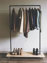 one thrifty diy clothing rack 30 minute project home