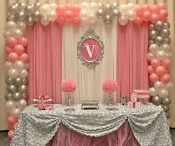 backdrop ideas princess party wall decorations extraordinary best 25 birthday