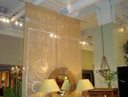 Room Divider Rod by Burlap Room Divider At Ahead Of The Curve Closet Rod Burlap And