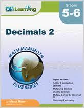 grade 6 division of decimals worksheets free u0026 printable k5