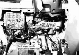 hyundai elantra alarm repair guides component location views 2006 component