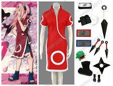 Sakura Halloween Costume Sakura Haruno Cosplay Ebay