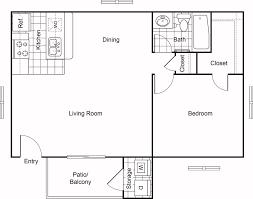 floor plans cobble hill apartments a2 1 bed 1 bath 650 sq ft