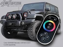 led lights for jeep wrangler jk oracle complete light kit with halo led light ring for 07 up