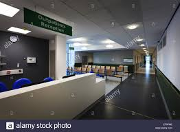 Hospital Reception Desk Hospital Outpatients Reception Desk And Waiting Area Without