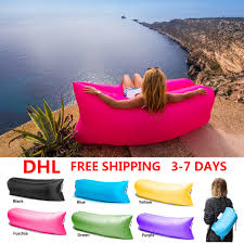 Sofa Bed Inflatable by 9 Colors Fast Inflatable Lazy Sleeping Sofa Bed Festival Camping