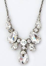 long crystal statement necklace images Perfect details sorrelli large teardrop crystal statement necklace