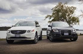 audi q5 2013 vs 2014 comparison test 2014 volvo xc60 t6 awd vs 2014 audi q5 tdi autos ca