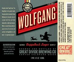 All About Beer Magazine » Great Divide Brewing Co. Wolfgang Dopplebock