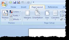 word layout pictures change the default margins used in new word documents