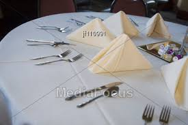 Wedding Table Set Up Stock Photo Wedding Table Set Up At Reception Image Jf110991