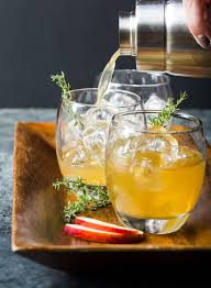 bourbon apple cider cocktails