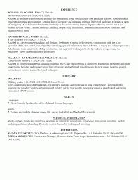 Resume Sample Language Skills by Examples Of Resumes Sample Resume For Beginners Language Skills