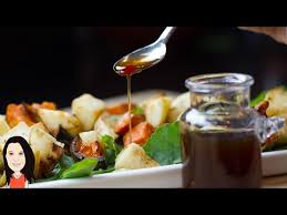 oil free asian salad dressing soy sauce maple syrup white