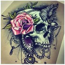 image result for beautiful skull tattoos for women tattoo ideas