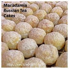 macadamia russian tea cakes 夏果俄罗斯茶饼 guai shu shu