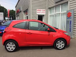 used ford ka edge reduced price flame red 1 2 hatchback