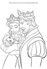 baby rapunzel coloring pages 1000 images about disney u0027s tangled