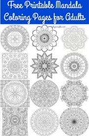 mandala coloring pages 27 free mandalas art coloring