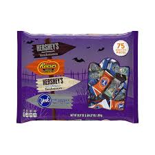 reese s halloween amazon com hershey u0027s halloween snack size assortment 38 27