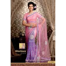 sari mariage acheter sari mariage brodé de fleurs en perles