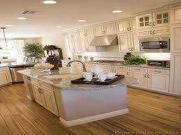 Restoration Hardware Kitchen Cabinets by Kitchen Cabinets Brown Cabinets With White Subway Tile Backsplash