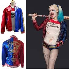 adults cosplay costume halloween jacket comics squad