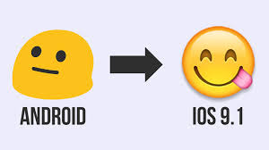 emoji android change android emoji to ios 9 1 no skin no new keyboard