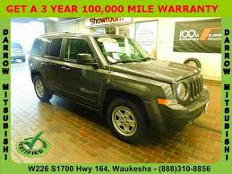 patriot jeep used used certified one owner 2015 jeep patriot sport waukesha wi