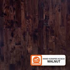 scraped acacia walnut lw mountain inc