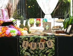 hawaiian theme wedding hawaiian luau bridal wedding shower vintage luau bridal shower