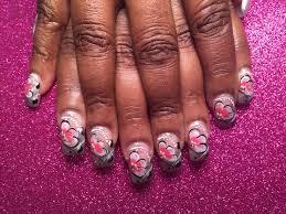 starlight stargazer nail art designs by top nails clarksville tn