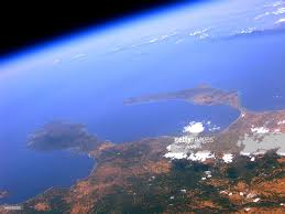 space diy engineer uses balloon to photograph greece from space