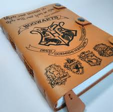 leather harry potter journal harry potter diary personalized