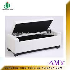 high quality home storage pouffe stool seat box storage ottoman