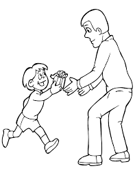 father u0027s day 4 coloring page