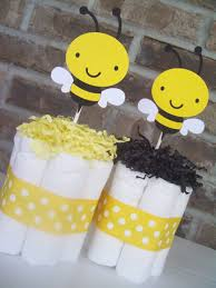 Centerpiece For Baby Shower by 31 Bee Themed Baby Shower Decorations