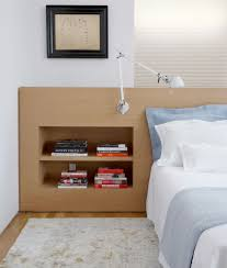 built in headboard bedroom contemporary with alex katz andy warhol