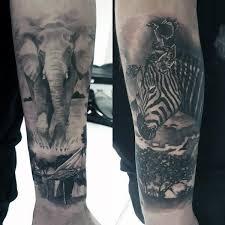 animal tattoos on arm best 25 animal sleeve tattoo ideas on