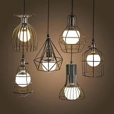 Retro Pendant Lights Retro Hanging Lamps Super Bright Vintage Led Pendant Lights