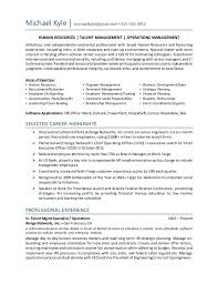 Corporate Social Responsibility Resume Examples by Talent Development Manager Resume Ecordura Com